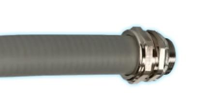 Metall Flex Schlauch PVC beschichtet