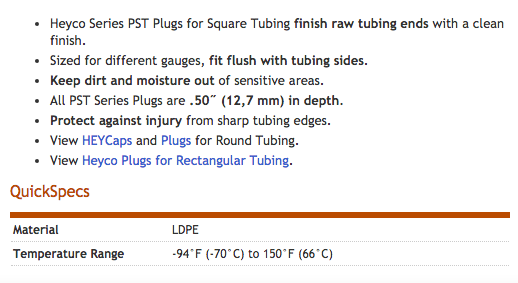 Heyco-R-_Plugs_for_Square_Tubing_-_PST_Series