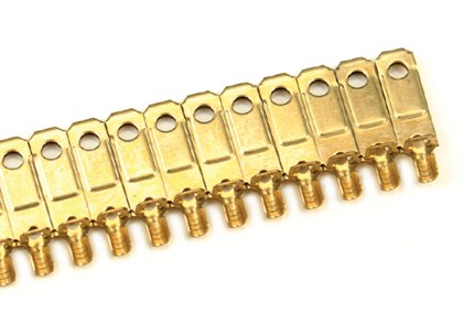NEMA 5-15P Flachstecker Kontakte Messinglegierung