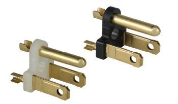 Cordset Steckerkomponente NEMA 5-15P Vormontiert Polyamid, Polycarbonate, Messinglegierung