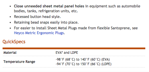 Heyco-R-_LDPE_Sheet_Metal_Plugs_-_Recessed_Head