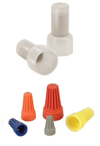 Closed Crimp - Caps Polyamide, Polypropylene / Steel / Brass