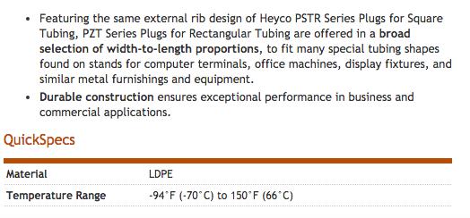 Heyco-R-_Plugs_for_Rectangular_Tubing_-_PZT_Series