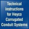 Technische Informationen Heyco Wellrohrsysteme