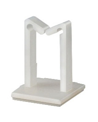 Cable holder with adhesive bottom Polyamide