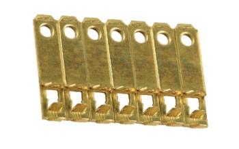 NEMA 5-15P Flachstecker Kontakte für rechtwinklige Stecker Messinglegierung