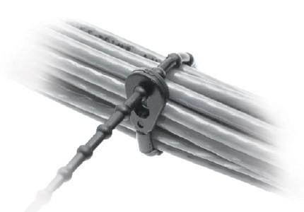 Kugel-Kabelbinder Polyamid / Polyethylene