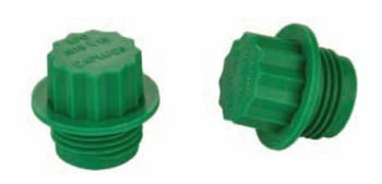 Heyco® Plugs for Threaded Ports For ISO Threaded Ports