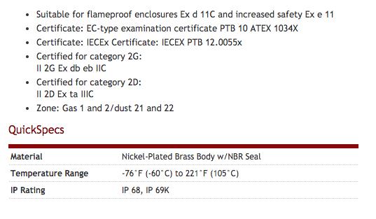 Heyco-R-Tite_Brass_Liquid_Tight_Cordgrips__Metric_Hubs_Explosion_Proof