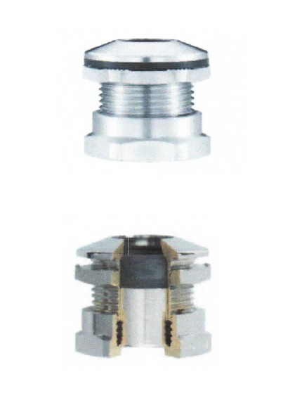Fuse - Cable gland Brass nickel plated