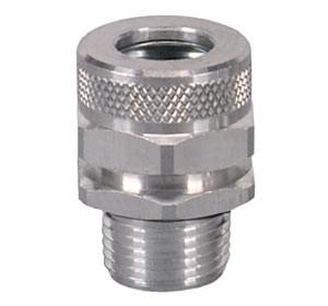 Kabelverschraubung Aluminium, Rohrgewinde ¼ bis ½