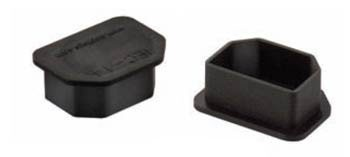 Heyco® IEC-14 Plug For IEC-13 Female Connectors