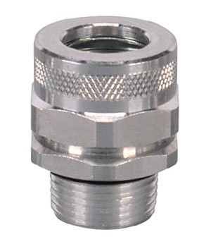 Kabelverschraubung Aluminium, Rohrgewinde 1-½ bis 2