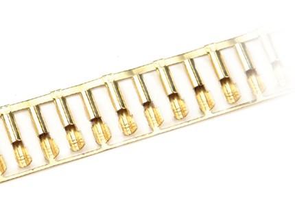 Pin Steckverbinder, Steckerkontakte Messinglegierung