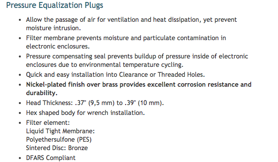 HEYClean_Brass_Pressure_Equalization_and_Drain_Plugs