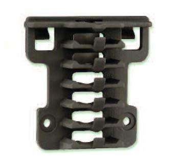 HEYClip™ MaxRunner® Cable Clip Arrays - Clip Mount
