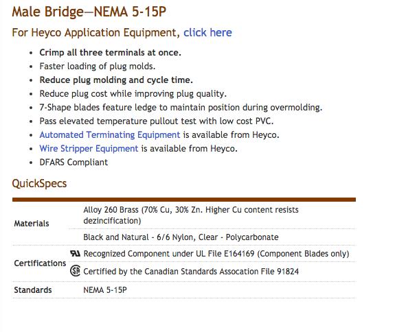 Heyco-R-_Preassembled_Cordset_Components_-_Male_Bridge