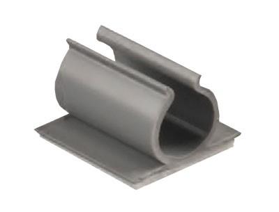 Kabelklemme - Kabelhalter PVC U Form mit Klebeboden