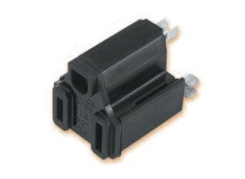 Cordset Steckerkomponente NEMA 5-15R Vormontiert Polyamid, Polycarbonate, Messinglegierung