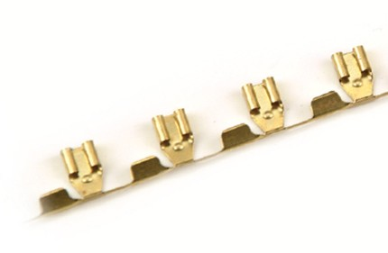 Crimp - Flat plug Contacts Brass alloy