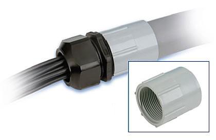 Anschluß-Adapter PVC 80