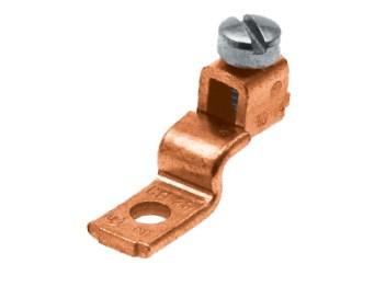 Schutz-Leiter Kabelschuh, schraubbar Kupfer/Aluminium